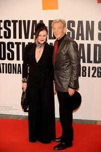 Sir Ian McKellen and Frances Barber at the 57th San Sebastian International Film Festival.