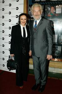 Frances Barber and Sir Ian McKellen at the Melbourne International Film Festival premiere of