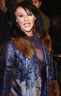Frances Barber at the London premiere of