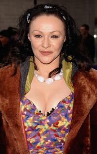 Frances Barber at the Evening Standard Theatre Awards.