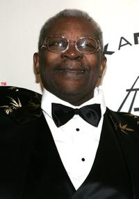 B.B. King at the 20th Annual Rock And Roll Hall Of Fame Induction Ceremony.