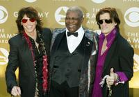 Steven Tyler, B.B. King and Joe Perry at the 46th Annual Grammy Awards.