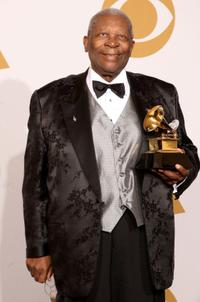 B.B. King at the 51st Annual Grammy Awards.