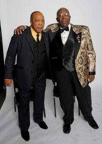 Quincy Jones and B.B. King at the Thelonious Monk Institute of Jazz honoring B.B. King event.