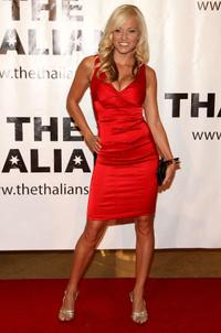 Brooke Long at the Thalians' 53rd Annual Ball.