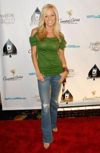 Brooke Long at the 6th Annual World Poker Tour Invitational Kick Off.