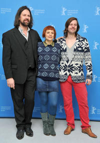 Johan Heldenbergh, Veerle Baetens and director Felix Van Groeningen at the photocall of