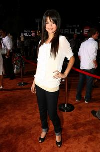 Selena Gomez at the World premiere of