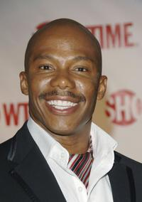 Erik King at the premiere of