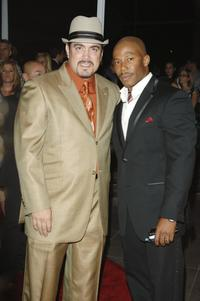 David Zayas and Erik King at the premiere of