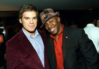 Michael C. Hall and Erik King at the Showtime Pre-Golden Globes Celebration.