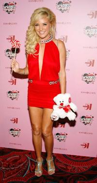 Bridget Marquardt at the Studio 54 inside the MGM Grand Hotel/Casino.