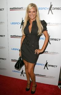 Bridget Marquardt at the 2nd Annual Celebrity Bowling Night.