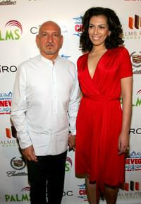 Ben Kingsley and Daniela Lavender at the 2007 CineVegas Film Festival.