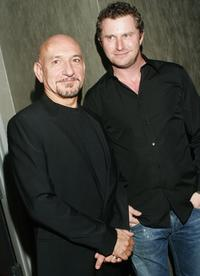 Ben Kingsley and Vadim Perelman at the closing night Gala of the Russian Nights, Film Festival.