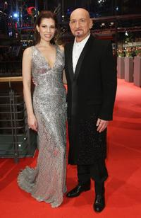 Daniela Lavendar and Ben Kingsley at the Berlin premiere of