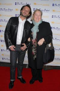 Kathy Kinney and Alan Faye at the Trevor Project's 9th annual Cracked XMas