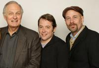 Alan Alda, Matthew Broderick and Terry Kinney at the 2008 Sundance Film Festival.