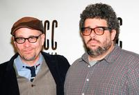 Terry Kinney and Neil LaBute at the rehearsals of