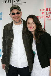 Terry Kinney and Robin Tunney at the screening of