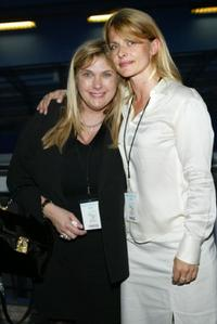 Collen Camp and Nastassja Kinski at the premiere of
