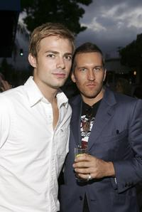 Jonathan Bennett and Duncan Quinn at the GQ & Beefeater Hosted Opening party of Duncan Quinn.
