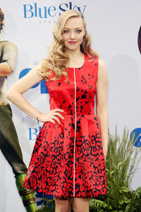 Amanda Seyfried at the New York premiere of