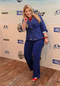 Lisa Lampanelli at the Comedy Central Roast Of David Hasselhoff in California.