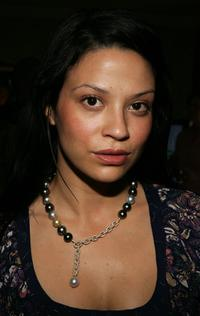 Navi Rawat at the Showtime Pre-Emmy Gift House retreat.