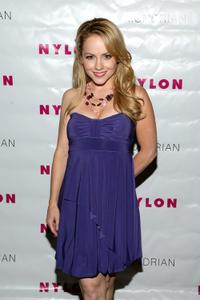 Kelly Stables at the Nylon Magazine's TV Issue Launch party.