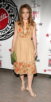 Kelly Stables at the Virgin Megastore Hollywood launch of new fashion and accessories line.