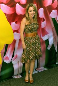 Kelly Stables at the Spring 2009 Mercedes-Benz Fashion Week.