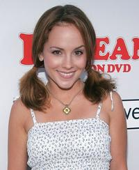 Kelly Stables at the DVD launch of