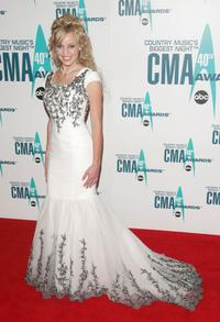 Carmen Rasmusen at the 40th Annual CMA Awards.