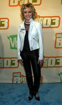 Carmen Rasmusen at the VH1's Big In 2003 Awards.