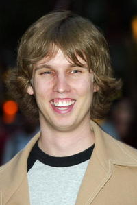 Jon Heder at the party before the opening night of Drive-In Movies At The Rock with
