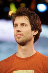 Jon Heder at MTV TRL.