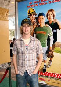 Jon Heder at the premiere of