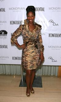 Shondrella Avery at the LA Confidential Magazines annual Oscar Party.