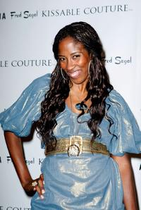 Shondrella Avery at the Kissable Couture lip gloss launch.