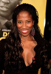 Shondrella Avery at the premiere of