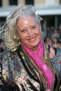 Sally Kirkland at the premiere of