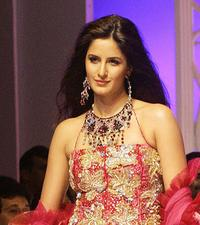 Katrina Kaif at the Grande Finale of Lakme India Fashion Week (LIFW).