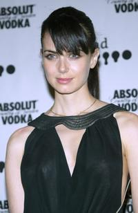 Mia Kirshner at the 15th Annual GLAAD Media Awards.