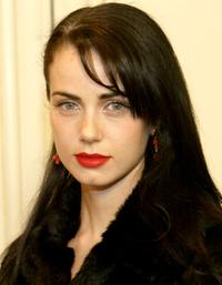 Mia Kirshner at the premiere of