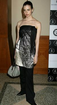 Mia Kirshner at the Amnesty International USAs 5th annual Media Spotlight Awards.