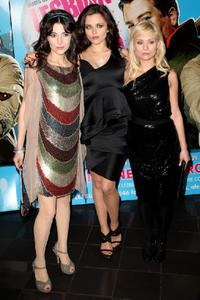 Silvia Colloca, Vera Filatova and Myanna Buring at the screening of