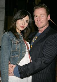 Silvia Colloca and Richard Roxburgh at the Belvoir Theatre Reopens With