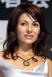 Silvia Colloca at the promotion of
