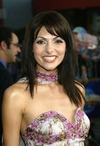 Silvia Colloca at the premiere of